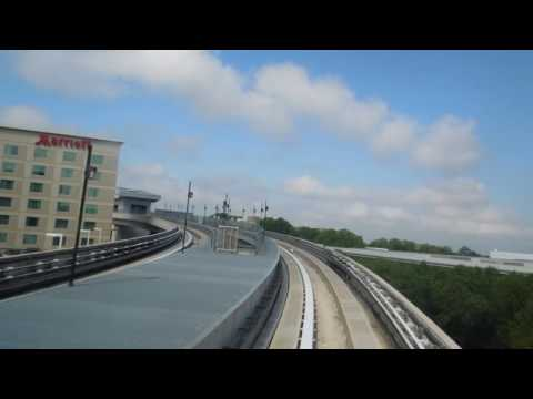 Hartsfield Jackson Atlanta International Airport Skytrain: Airport to Rental Car Center