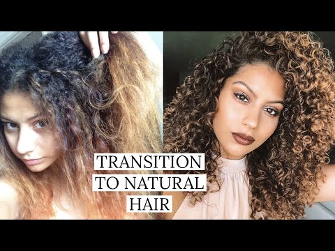 How I Transitioned To Natural Hair | 10 Tips