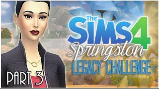 The Sims 4 Springston Legacy - {Part 3} Desert Gloom.