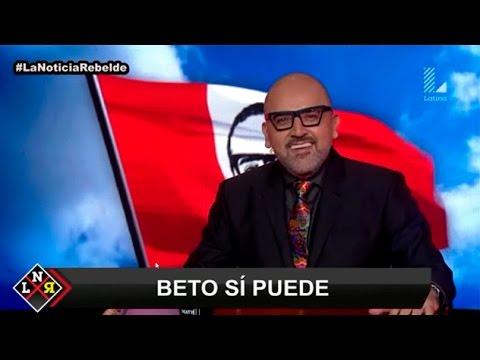 Beto Ortiz justifica su candidatura presidencial en este monólogo