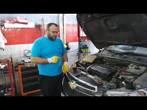 Chevrolet Cruze Yağ Değişimi