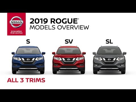 2019 Nissan Rogue Crossover Walkaround & Review