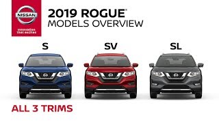 homepage tile video photo for All 2019 Nissan Rogue Models Explained