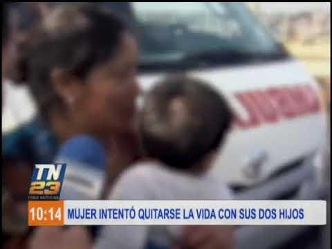 mujer-intentó-suicidarse-junto-a-sus-dos-pequeños-hijos