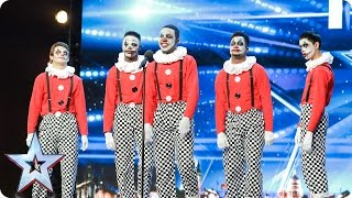 TNG scare the living daylights out of the Judges | Auditions Week 5 | Britain's Got Talent 2017