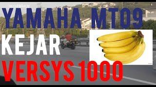 #27: Yamaha MT 09 kejar Versys 1000    Motovlog Malaysia