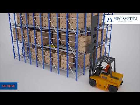 Mec System Scaffalature.Mec System Scaffalature Automatiche Con Satellite Sat