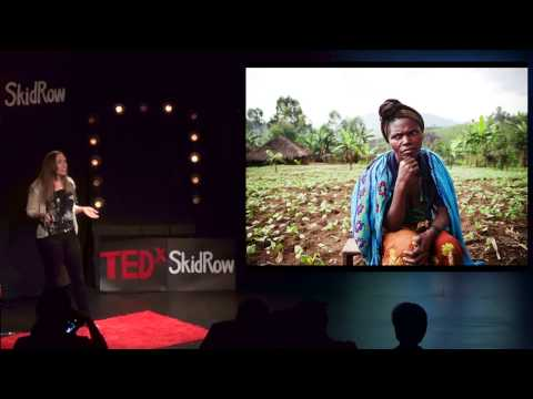 The truth told: Sarah Fretwell at TEDxSkidRow