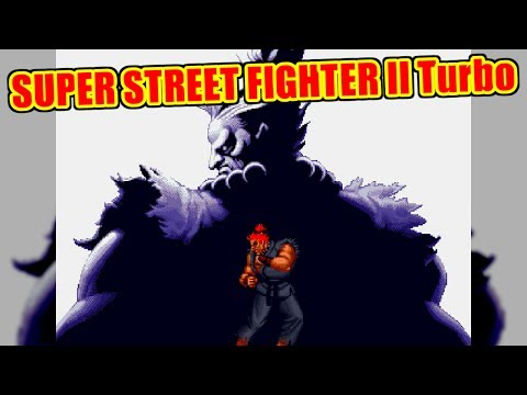 STAFF CREDIT - SUPER STREET FIGHTER II Turbo