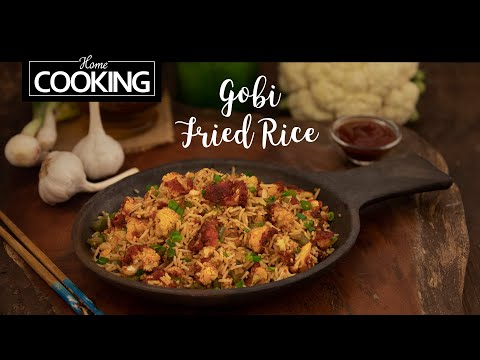 gobi-fried-rice-|-cauliflower-fried-rice-|-gobi-rice-recipe