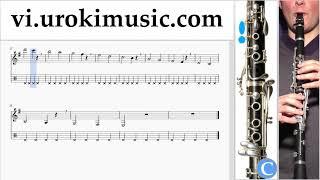 Học Kèn Clarinet Besame Mucho Hướng Dẫn  Bài Hát Phần 1 Bài tập um-b687