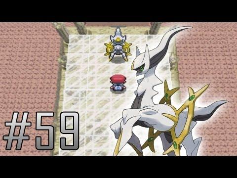 Pokemon Platinum Walkthrough Part 59: Arceus