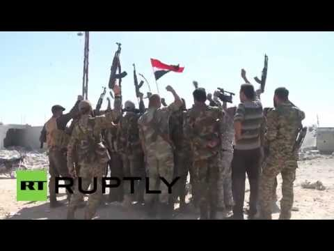 Syria: Syrian Army celebrates gains in Hama Governorate under Russian air cover
