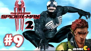 The Amazing Spider Man 2 - Movie Game Green Goblin Boss Fight EP 3 (1080P) - Part 9 (iOS)