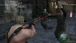 Usar armas de fuego con Krauser