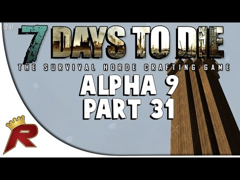 7 Days To Die Alpha 9 3 Ep 10 Walls And Farming Doovi