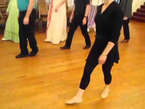 Chasse and Pas Jeté Assemblé - The Basic Regency Era Country Dance Steps