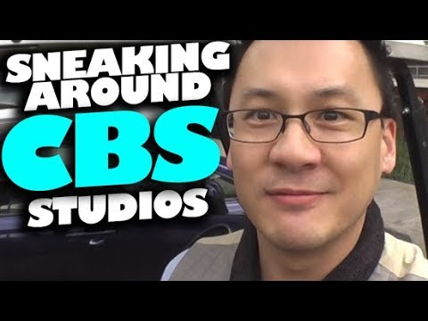 VLOG | Sneaking Around CBS Studios