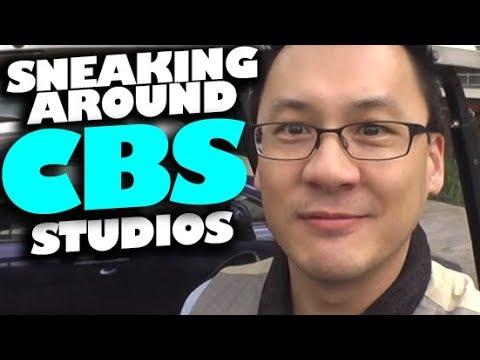 Sneaking Around CBS Studios | vlog