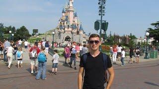 Disneyland Paris / Disney Paris Park Дисней в Париже часть 1(Видеоблогеры канала
