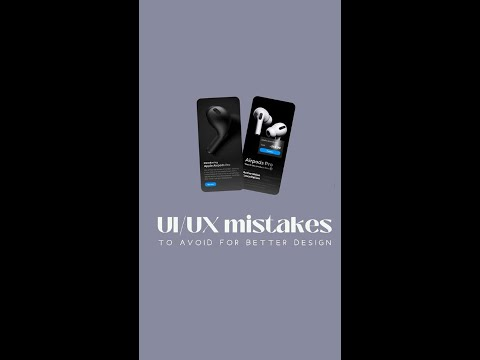 ui/ux mistakes | to avoid for better design | ui/ux design tutorials | ui/ux designer | ui/ux skills