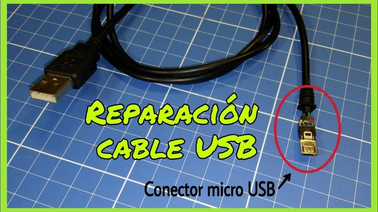 C 211 Mo Reparar Un Cable Usb Usb B Micro Usb Mini Usb