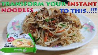 Pimp your Instant Ramen Noodles w/ these Simple Ingredients | Pancit Canton