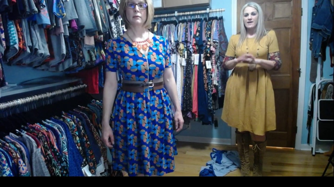 a1885f9cbc5 Lularoe Amelia Fashion Show - How to Style the Amelia Dress - YouTube