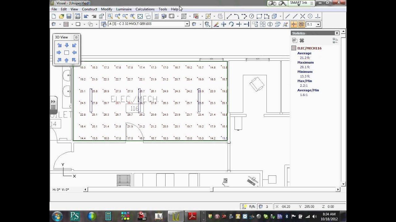 Lighting Calculation Commercial Project Visual 10 18 12 Amazing Pictures