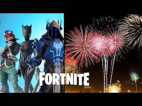 Lanza Fuegos Artificiales Fortnite Ubicacion Youtube