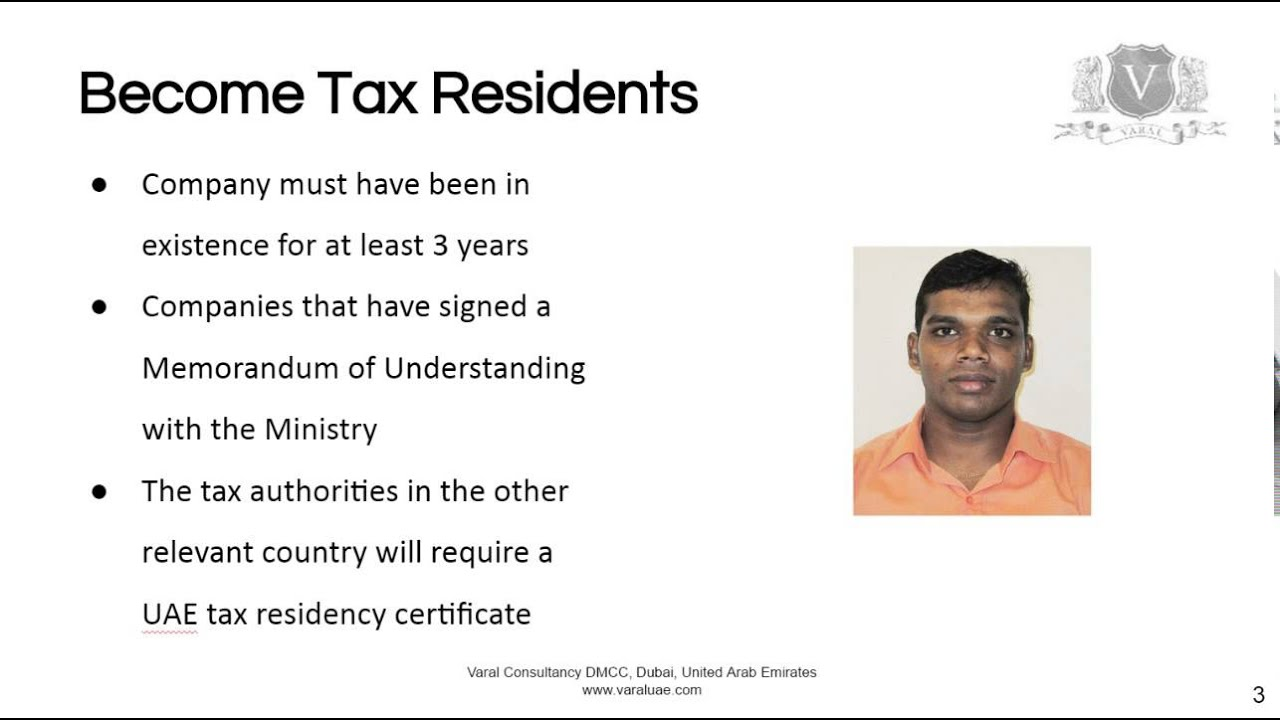 Uae Tax Residency Discover How To Avoid Double Taxation Youtube