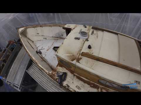 Restoring Vela - A Classic Sailboat - Episode 1