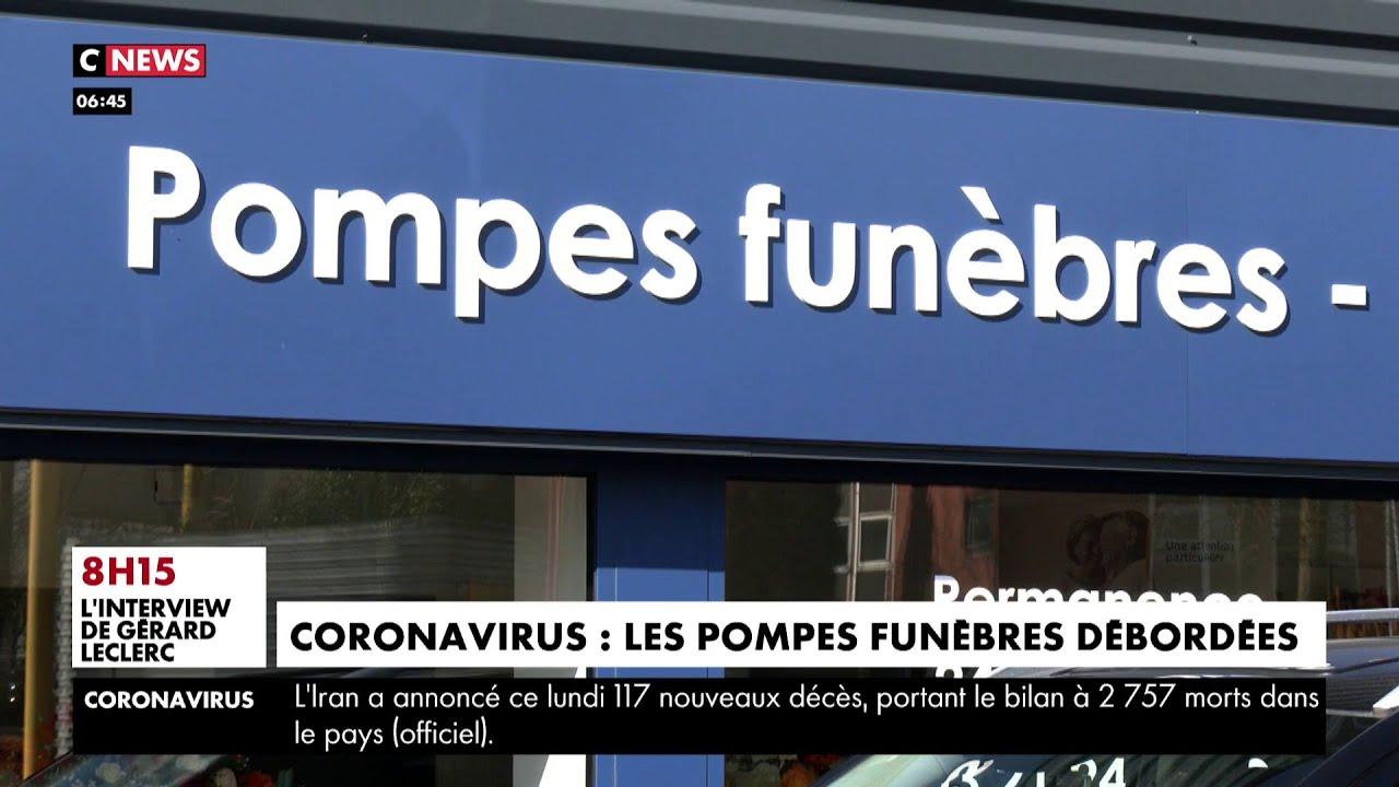 Coronavirus : les pompes funèbres sont débordées