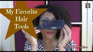 My Favorite Hair Tools  |  CurlyKimmyStar Thumbnail