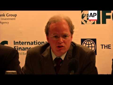 World Bank holds presser after official announcement about debt forgiveness plan