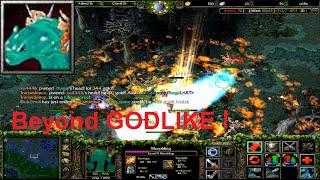 DotA 6.81c - Morphling Beyond GODLIKE !