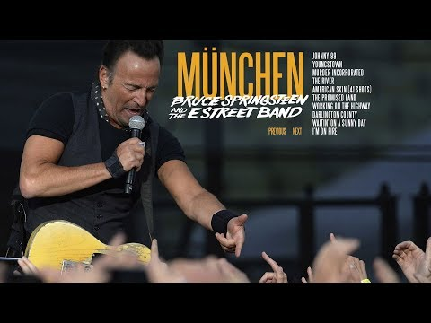Bruce Springsteen - The promised land - Munich 17.6.2016