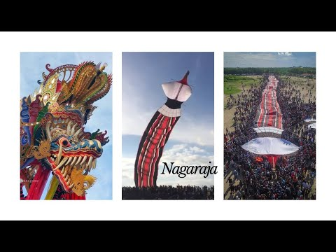 NAGARAJA the biggest kite in Bali