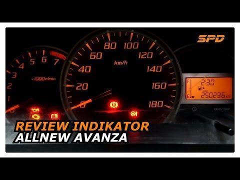 Indikator Grand New Avanza Veloz Modifikasi Review Speedometer All