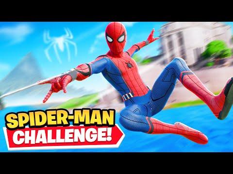 *new* Fortnite Spiderman Challenge!