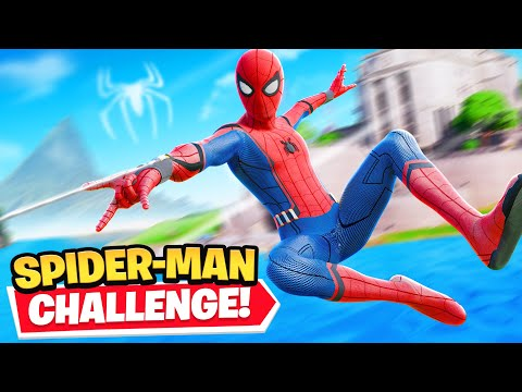 *NEW* Fortnite SPIDERMAN CHALLENGE!