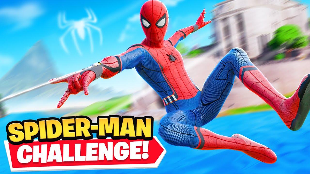 Download *NEW* Fortnite SPIDERMAN CHALLENGE!