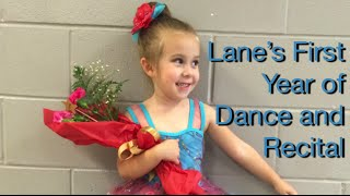 Lane's First Year of Ballet and Tap Dance - Ferdalump - Recital