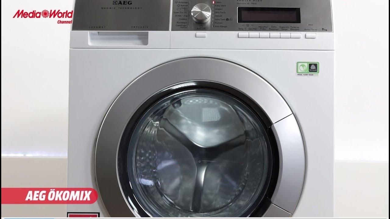 lavatrice aeg lavamat non