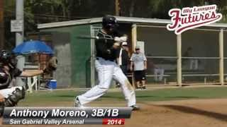ANTHONY MORENO, 3B, SAN GABRIEL VALLEY ARSENAL, SWING MECHANICS AT 200 FPS