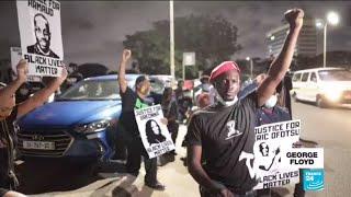 George Floyd demonstrations: South Africa, Kenya, Ghana protest against police brutality