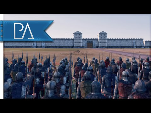 FIRE & DEATH SIEGE - Medieval Kingdoms Total War 1212AD Gameplay