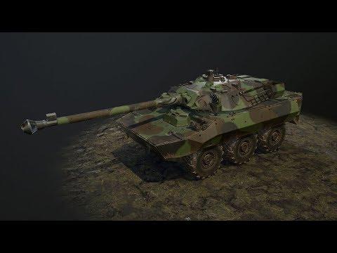Обкатываем  AMX 10 RCR за 300 р.