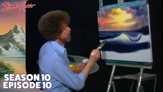 Bob Ross - Ocean Sunset (Season 10 Episode 10)