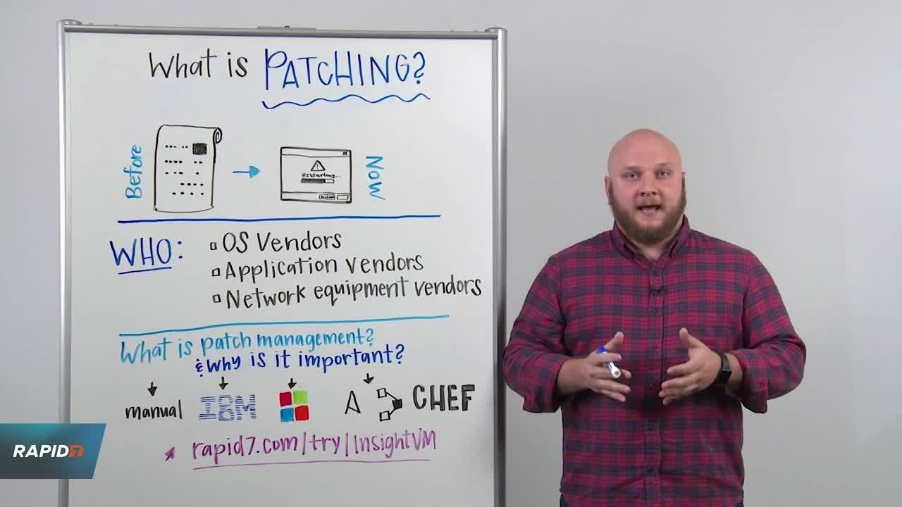 Download Whiteboard Wednesday: What is Patching?